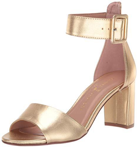Chinese Laundry Women's Rumor Heeled Sandal, Gold Metallic, 9 M US
