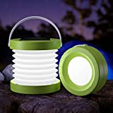 BALIT LED Solar Camping Lantern, Type C Rechargeable, Collapsible Camping Lights with Hanging Handle, Portable, 3 Modes, Waterproof, Solar Panel for Tent, Camp, Hunting, Fishing, Outdoor and Emergency