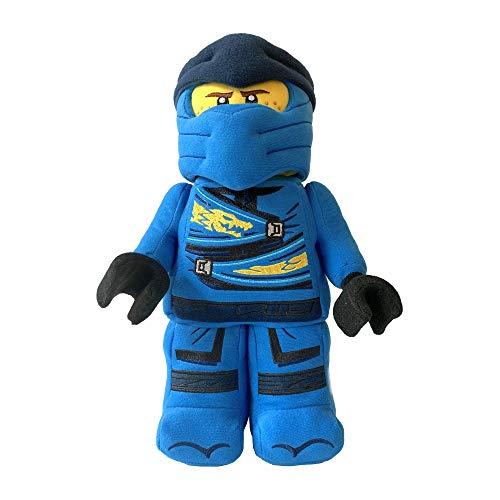 Manhattan Toy 335550 Jay Ninja Krieger Lego NINJAGO Plüsch Charakter, Multicolour, 33.02cm