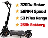 THE OUTSTORM 56MPH Ultra High Speed Electric Scooter for Adults...