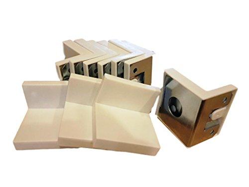30 x 40 x 45 mm kaststeun Hardware Bright zc Zink Plated Corner Joint 90 graden beugels Borden