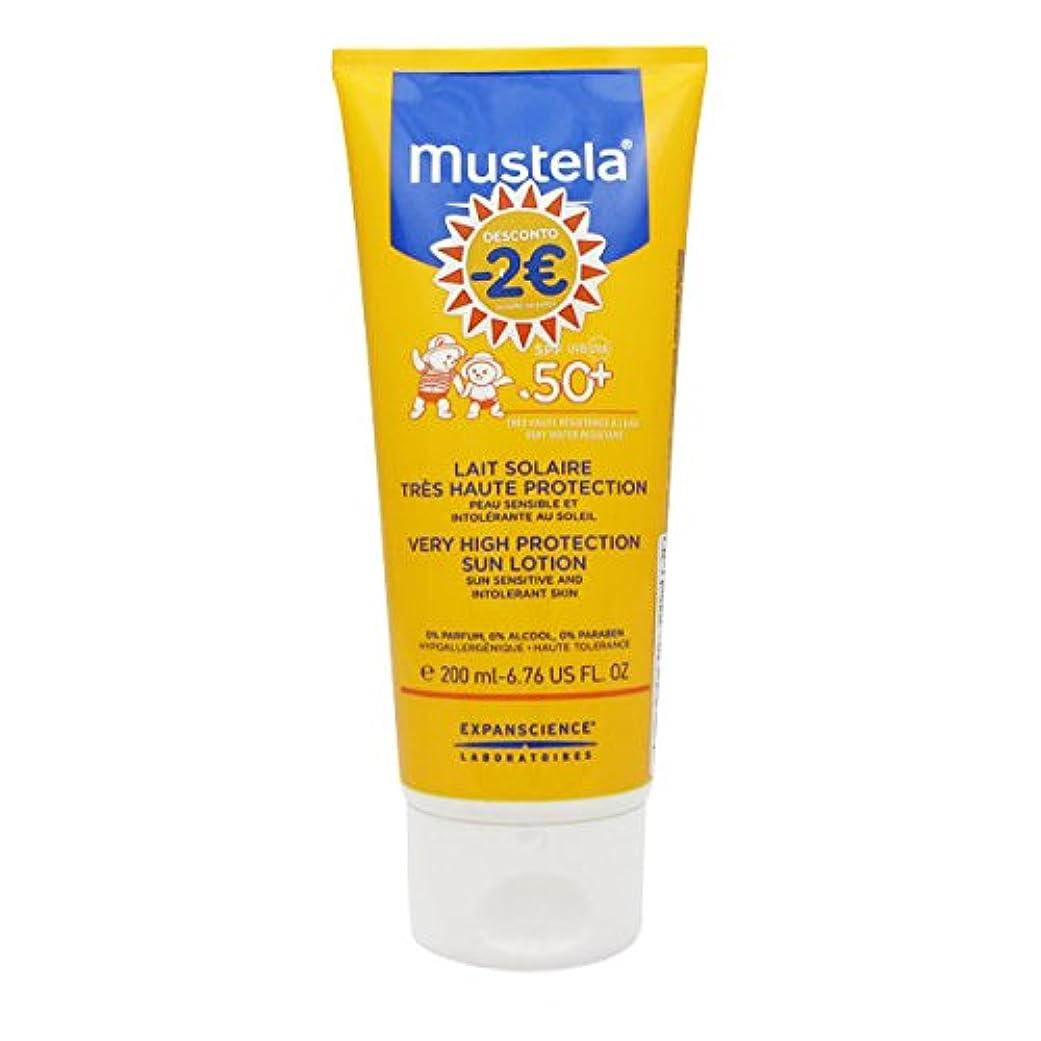 コンピューターインセンティブ天才Mustela Solar Milk Spf50 + 200ml [並行輸入品]