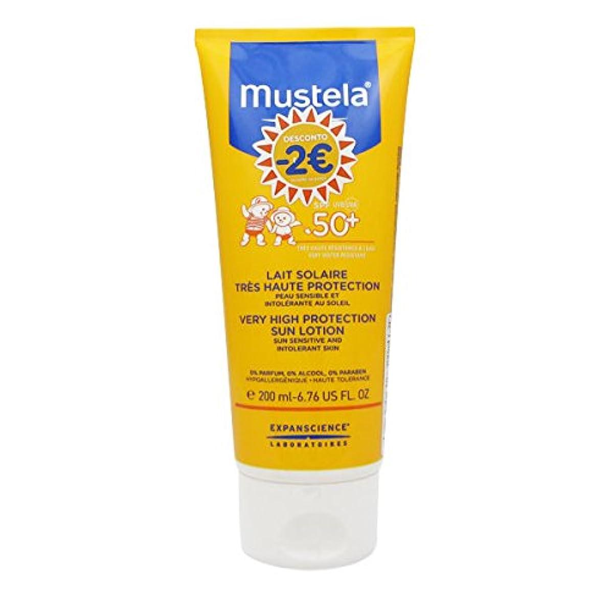 軽蔑不利益騒Mustela Solar Milk Spf50 + 200ml [並行輸入品]