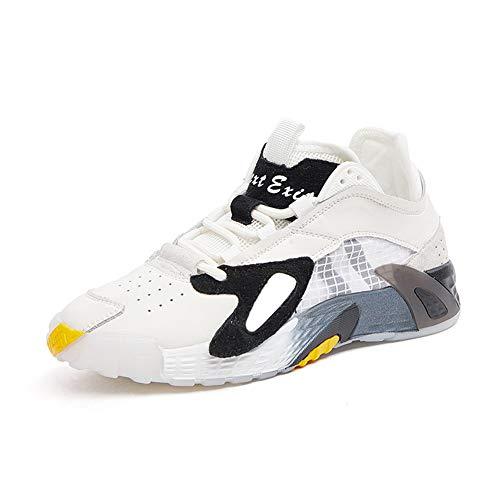 WL Mujeres Hombres Mujeres Zapatos Corrientes del Aire Zapatillas De Deporte Que Caminan del Deporte Gimnasio De Fitness Sendero Atléticos Casual,Black Men's Shoes,39