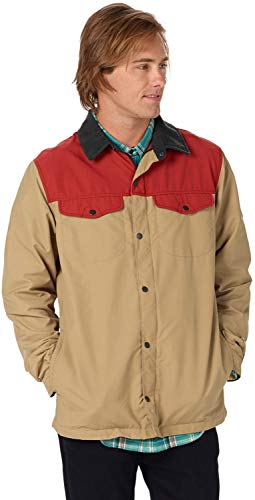 Burton Mens Stead Jacket, Tandor/Kelp, Large