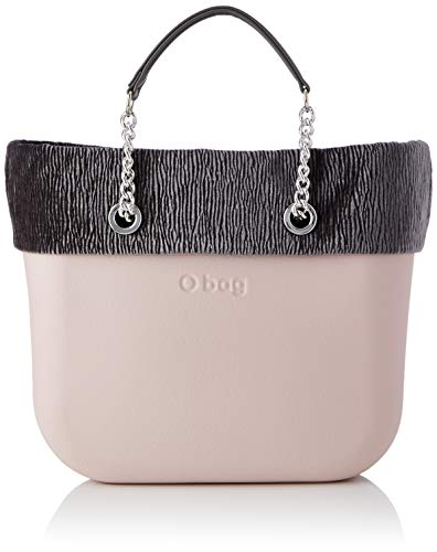 O bag mini, Borsa da donna, Rosa smoke, Unica