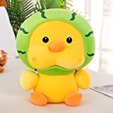 Plush Chick,Yellow Ultrasoft Stuffed Animal Plush Toy,Cute Chick Squishy Hugging Pillow,Adorable Yellow Chick Plush Pillow for Kids,Room Decoration,23 cm