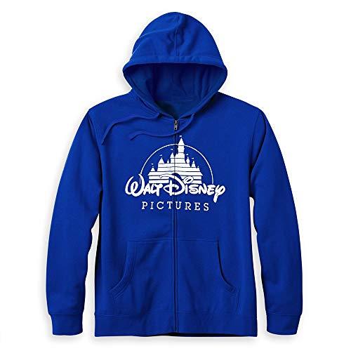 Disney Walt Pictures - Sudadera con capucha para adultos, Multicolor, Medium