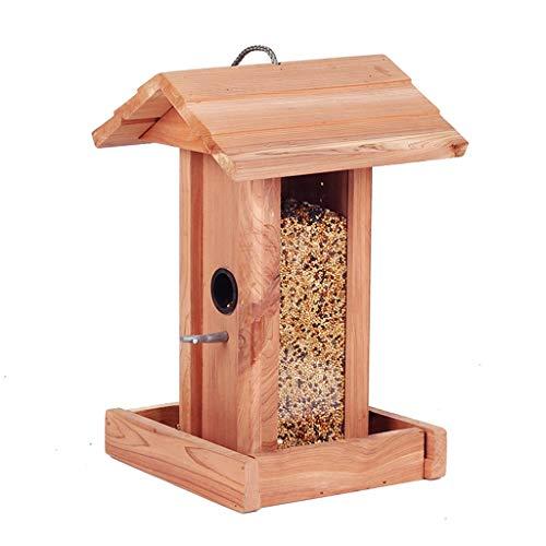 LiPengTaoShop Alimentador De Aves Alimentadores De Aves Silvestres Aves De Gran Capacidad Pájaros Colgantes Alimentador De Aves Gazebo Alimentadores De Aves para Colgantes Exteriores