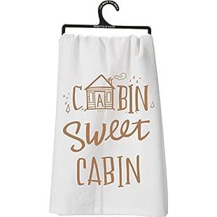 Customer reviews Cabin Sweet Cabin Tea Towel Towel:Donald-trump
