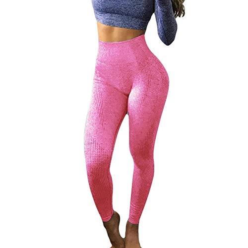 Mdsfe Fitness Yoga yogabroek Sportswear Dameslegging met hoge taille sport panty vrouwen Fitness naadloze leggings Sportswear Large WE-a8895