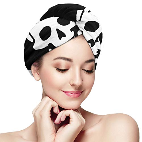 Zhgrong Chef Grill Sergeant Kochen Pirate1 Super Absorbent Twist Turban, Mikrofaser Bad Dusche Haartuch Twist