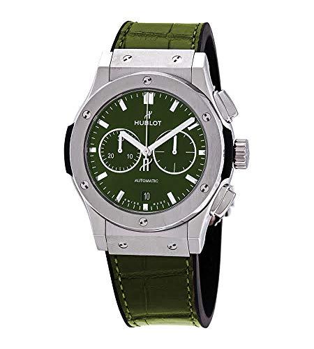 Hublot Classic Fusion 541.NX.8970.LR - Cronografo in titanio, colore: Verde