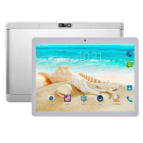 HUANGYUNCHAO Tablet PC Android 4.4 MTK6592 Octa Core a 1,3 GHz, Dual SIM, GPS de la Ayuda, OTG, Wi-Fi, Bluetooth Electrónica (Color : Silver)