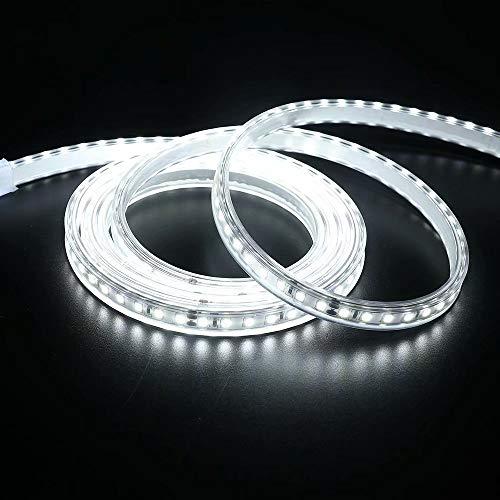 Tira de iluminación suave para cubierta, iluminación LED, 24 V, impermeable, para escaleras, armarios, armarios, armarios, estanterías, luces de cocina, 2 metros