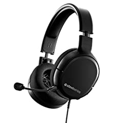Wired gaming headset with universal connectivity for all platforms including PC PS4 Xbox switch and lite and mobile via standard 3 5 millimeter connection Features the critically acclaimed signature audio of the Arctis line for precisely balanced inc...