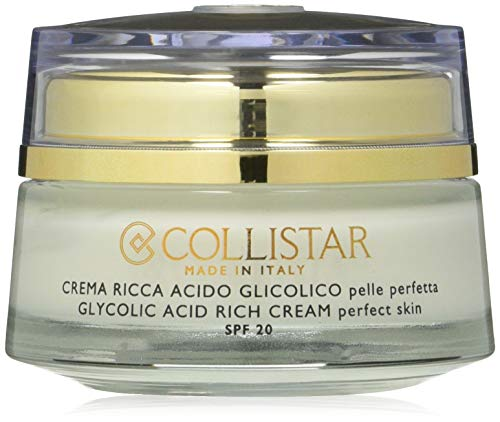 pure actives glycolic acid rich cream perfect skin 50 ml by COLLISTAR