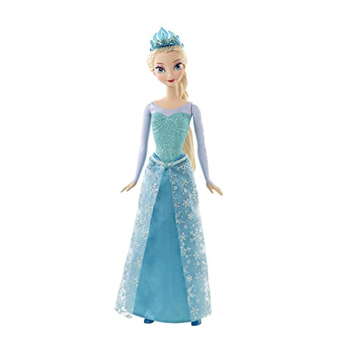 Mattel Disney Princess CFB73 - Märchenglanz Prinzessin Elsa Puppe