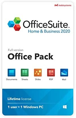 OfficeSuite Home Business 2020 Lifetime license Compatible with Microsoft Office Word Excel product image