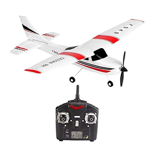 Amagogo Wltoys F949 RC Cessna Plano 3 Canal 2.4GHz Control Remoto Hobby Fun