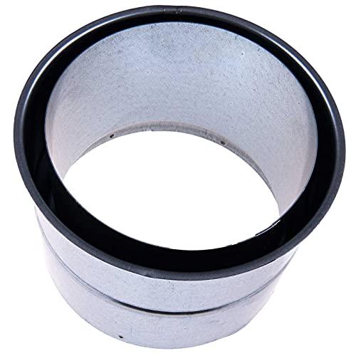 SIDCO Wandfutter Doppelwandfutter 130 mm Ofenrohr Rauchrohr Kaminanschluss Ofen