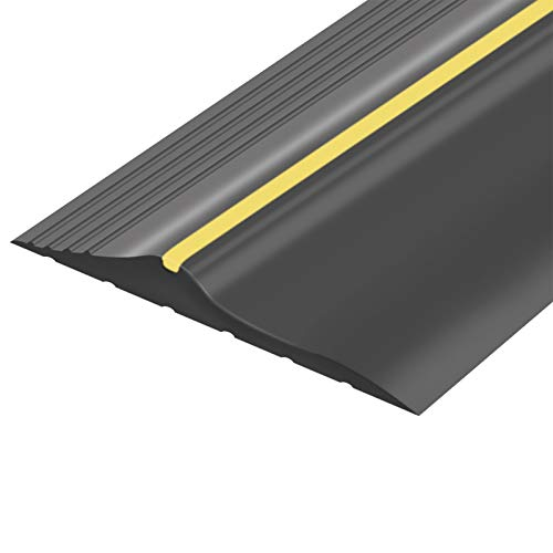 Universal Garage Door Bottom Threshold Seal Strip DIY Weather Stripping Replacement,Not Include Sealant/Adhesive (10Ft)