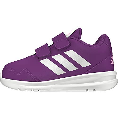 adidas Unisex-Kinder Altarun CF Fitnessschuhe, Violett (Vioray/Ftwbla/Lilcla 000), 29 EU