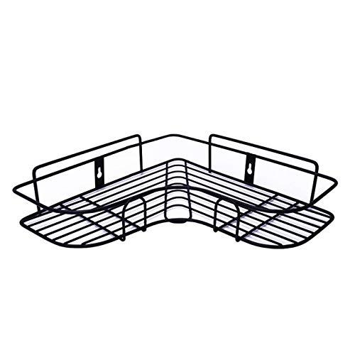 N/V Bagno Elettrodomestici Libero Perforazione Parete Appeso Storage Rack Durevole Pratico Angolo Stoccaggio Rack