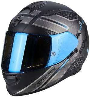 Motorcycle helmets Scorpion EXO-R1 AIR OGI Black-Blue L Noir//Bleu