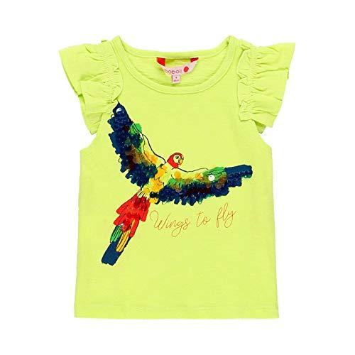 boboli Camiseta Manga Corta Punto flamé de niña Modelo 439