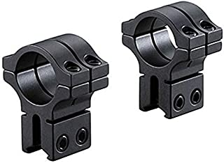 BKL 1 Rings, 3/8 or 11mm Dovetail, single Strap, High, Matte Black