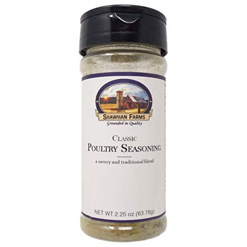 Shawhan Farms Classic Poultry Seasoning | Gluten Free | 2.25 Ounce Shaker Top Jar