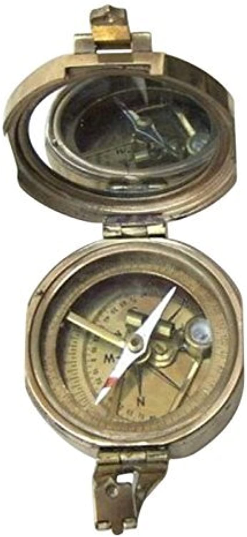 Armor Venue Brunton Compass with Wooden Box Outdoor Camping Gear