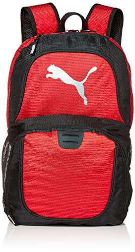 PUMA Backpack, Red, One Size