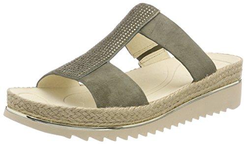 Gabor Shoes Damen Jollys Pantoletten, Grün (Oliv), 40.5 EU