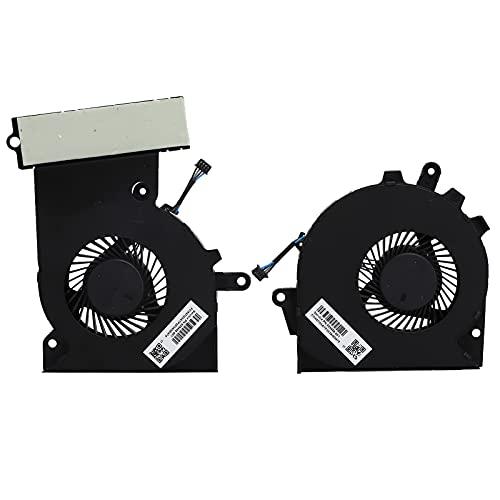 Surebuy Ventilador de refrigeración para portátil, CPU de conexión de alimentación de 4 Hilos + Ventilador de CPU para OMEN 15-CE 17-an