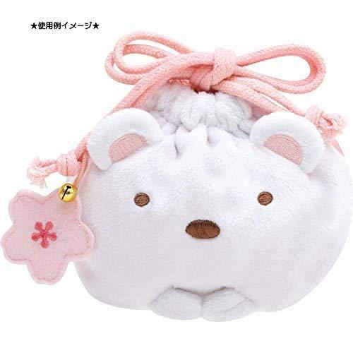 すみっコぐらし すみっコぐらし神社 桜咲く開運アイテム ミニ巾着 しろくま