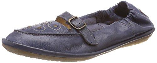 camel active Damen Soft 72 Mokassin, Blau (Jeans), 40 EU