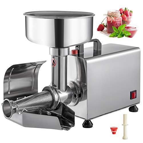 VBENLEM 110V Electric Tomato Strainer Commercial Grade Food Milling...
