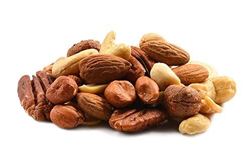Raw Mixed Nuts 25lbs Case — Bulk Trail Mix