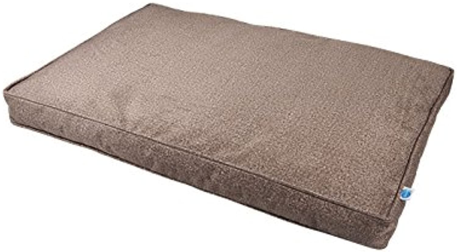 Messy Mutts Divine Flat Dog Bed with EVERFRESH Probiotic Technology for Natural, NonToxic Odor Control, Small