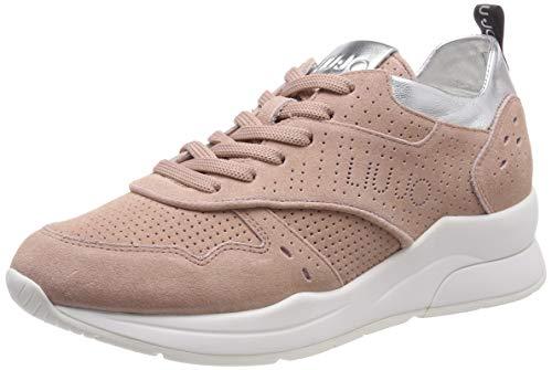 Liu Jo Shoes Karlie 14-Sneaker, Scarpe da Ginnastica Basse Donna, Arancione (Peach 31406), 41 EU