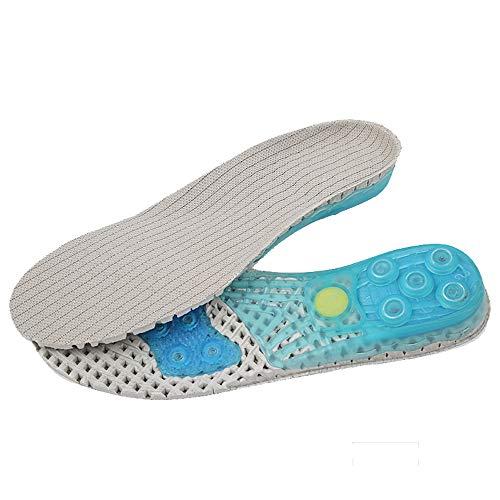 DODOING Unterstützung Sport Einlegesohle Komfort Innensohle Stoßdämpfende Schuhe Einlagen für Laufschuhe Arbeitsschuhe Sportschuhe Für Damen & Herren