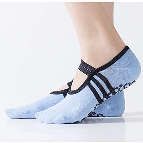 Ldd Nuevos Calcetines de Yoga para Las Mujeres Calcetines Antideslizantes para el Suelo seco rápido Pilates Pilates Ballet Calcetines Deportivos Accesorios de Ropa Deportiva