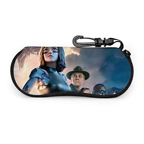 Estuche De Gafas,Estuche Para Gafas De Sol Alita Battle Angel, Bolsas De Impresión Para Gafas Para El Día De La Madre, Día Del Padre,17x8cm