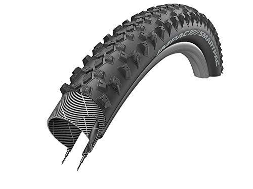 Schwalbe Unisex's IMPAC SMARTPAC TwinSkin Tyres, Black, 54-584