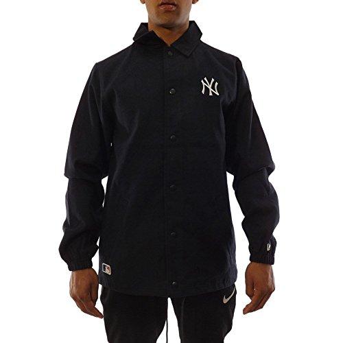 New Era Chaqueta MLB York Yankees Team Apparel Coaches Azul/Blanco Talla: L (Large)