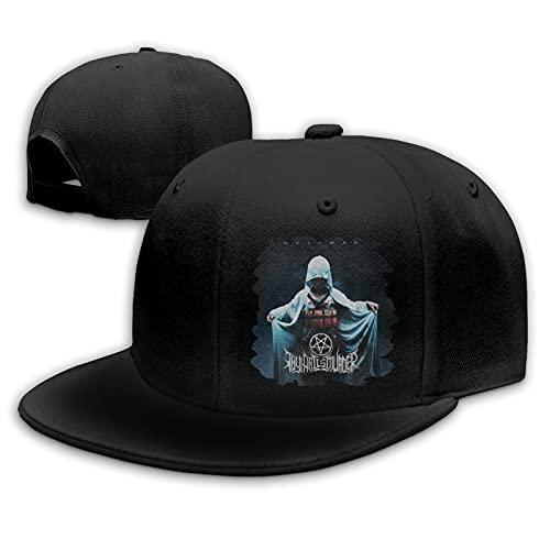 Thy Art Is Murder Gorras de béisbol Unisex Flat Bill Sombreros para el Sol Ajustables Sombrero de Hip Hop Baseball Caps