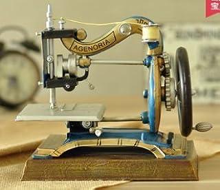 Vintage Decoración Retro Antiguo Costura Máquina Vino Armario Ropa ...