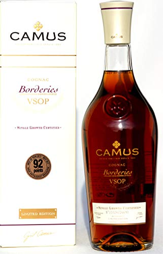 Camus -Borderies- VSOP Cognac, Limited Edition, 1,0 Liter Flasche